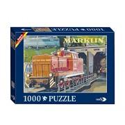 Noris Märklin Nostalgie 1000 TLG. Puzzle V 20, Multi Color
