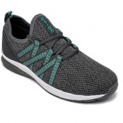 Asian Energy-01 Grey Green Training Shoes For Men