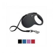 Flexi Classic Retractable Tape Dog Leash, Black, X-Small, 10-ft