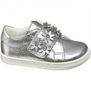 Cupcake couture Zilveren sneaker klittenbandsluiting Cupcake Couture maat 23