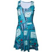 Adventure Time - Beemo jurk met all over print multicolours - Televisie cartoon merchandise - M