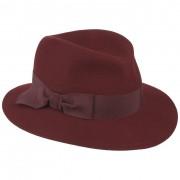 Mayser Cappello da Donna Wolga by Mayser in rosso scuro, Gr. S (55-56 cm)