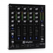 Skytec STM-7010 Table de mixage DJ 4 canaux USB MP3 EQ