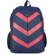 Tommy Hilfiger 15 inch Laptop Backpack(Red, Blue)