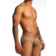 N2N Bodywear Net Pouch Brief Underwear Nude N11