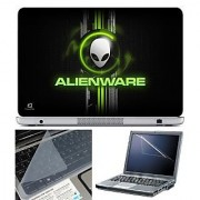 FineArts Laptop Skin 15.6 Inch With Key Guard & Screen Protector - Alienware