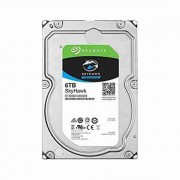 "Seagate SkyHawk HDD 6TB SATA III 64MB 6.0Gb/s 7200rpm 64MB Internal 3.5"" - ST6000VX0023"