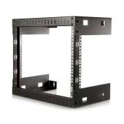 StarTech.com Rack de Acero Horizontal de Pared Estructura Abierta para Servidores 8U 12''