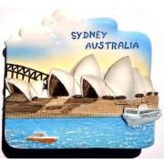 Ratpaneete Sydney Opera House Australia OZ Resin 3D Resin TOY Fridge Magnet