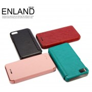 Kalaideng Luxury Enland Series PU+Ultra Thin Flip Leather Case For BlackBerry BB Z10 - BROWN