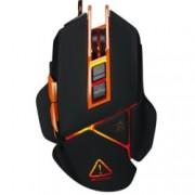 Мишка Canyon Hazard CND-SGM6N, оптична (6400 dpi), USB, черен, moveable weight