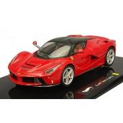 #Bct83 Hot Wheels Elite Ferrari La Ferrari, Red 1/43 Scale Die Cast Car