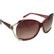 Hidesign Round Sunglasses(Brown)
