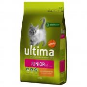 Ultima para gatos 2 x 3 kg/1,5 kg/7,5 kg - Pack económico - Adult com frango (2 x 7,5 kg)