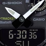Casio Náramkové hodinky Casio GBA-800-9AER, (d x š x v) 54.1 x 48.6 x 15.5 mm, žlutá