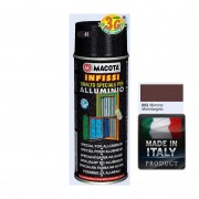 Spray Vopsea Pt. Aluminu Maron Macota 400ml.
