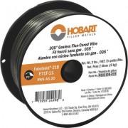 Hobart Flux-Core Welding Wire - E71T-11 Carbon Steel, .035 Inch, 2-Lb. Spool, Model H222108-R19