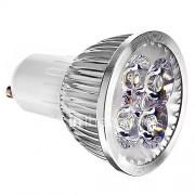 4W GU10 LED-spotlampen 4 400 lm Koel wit 6000 K AC 85-265 V