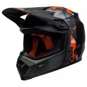 BELL Casque Bell MX-9 MIPS Presence Noir Mat Orange Camouflage