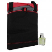 Calvin Klein Eternity Eau De Toilette Spray 1 oz / 29.57 mL + Medium Red Contrast Duffle Bag Gift Set Men's Fragrances 543964