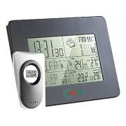 Mobile Funk-Wetterstation mit Funk-Uhr & digitalem Aussensensor | Wetterstation