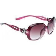 Eyeland Oval Sunglasses(Red)