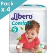 Libero Comfort 5 - 10 à 14 kg - Carton de 200 langes