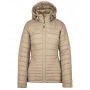 KILPI Dámská zimní bunda GIRONA-W JL0043KIBEG Béžová 36