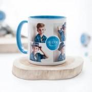 smartphoto Mugg med färg Blå