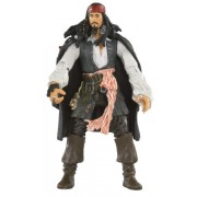 Pirates Of The Carribean 3: Captain Jack Sparrow With Rifle And Removable Coat