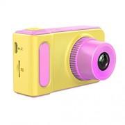 XQElect 2.0 Mega Pixel 2.0 pulgadas TFT visualización de silicona a prueba de golpes cámara réflex digital para niños (rosa) (color: rosa)
