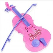 Auch 1 Pcs Early Educational Emulational Violin Toy For Girls & Boys/Kids/Children, Pink