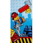 Badlaken Lego City construction 70x140 cm