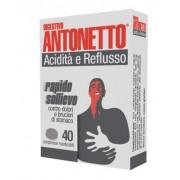 Marco Antonetto Spa Digestivo Antonetto Acidità E Reflusso 40 Compresse Masticabili