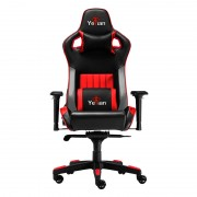 Silla Gaming Yeyian CADIRA 2150 reclinable negro-rojo 4D poliuretano