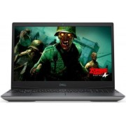 "Laptop Gaming Dell Inspiron G5 5505 (Procesor AMD Ryzen 5 4600H (8M Cache, up to 4.00 GHz), 15.6"" FHD 144Hz, 8GB, 256GB SSD, AMD Radeon RX 5600M @6GB, FPR, Win10 Home, Negru)"