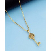 Dare by Voylla Royal Pendants Key Pendant With Chain