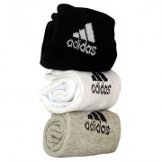 Adidas Men's Ankle Length Socks - 3 Pairs