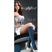 Gabriella - Patterned knee highs Trixi 01