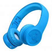 PICUN E2 Children Over-ear Bluetooth 4.1 Earphone with Microphone Support Aux-in - Blue