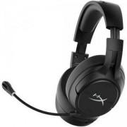 Безжични геймърски слушалки HyperX Cloud Flight S - Qi Charging, Черен, KIN-HEAD-HX-HSCFS-SG