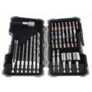 Bosch PRO-Mix fafúró, bit és dugókulcs készlet 35 részes (2607017327)