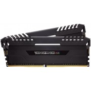 Corsair Vengeance LED 32GB (2x 16GB) DDR4-3000MHz 1.2V Desktop Memory Module with Black Vengeance LED Heatspreader
