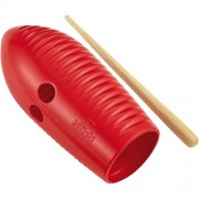 Nino Percussion NINO581R ABS Plastic Mini Guiro Red