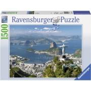 Puzzle vedere din Rio, 1500 piese Ravensburger
