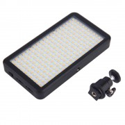 1 st 228 LED Video Licht voor Camera DV Camcorder 6000 K Black Case