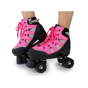 New and Imported Buildtough Roller Skates Double Line Mesh Surface 4 Wheels Two Line Skating Shoes for adults