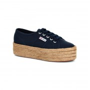 Superga 2790 Cotropew Chaussures à plateforme Corde Marine Taille 2.5