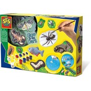 SES Creative Scary Creatures Glow in the Dark Casting and Painting Kit