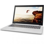 "Лаптоп Lenovo 320-15IAP (80XR0124BM)(бял) четириядрен Apollo Lake Intel Pentium N4200 1.10/2.50 GHz, 15.6"" (39.62 cm) Full HD Display & AMD Radeon 530 2GB (HDMI), 4GB, 1TB HDD, 1x USB 3.0, Free-Dos, 2.20 kg"